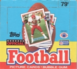 1989 Topps Football Cello Box