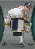 2004 SP Game Used Patch Premium #GM Greg Maddux Braves 16/50