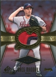 2004 SP Game Used Patch World Series #GM Greg Maddux Arm Up 6/50