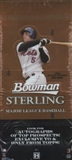 2006 Bowman Sterling Baseball Hobby Box