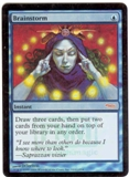 Magic the Gathering Promotional Single Brainstorm Foil (DCI)