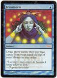 Magic the Gathering Mercadian Masques Single Brainstorm UNPLAYED (NM/MT)
