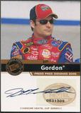 2006 Press Pass #17 Jeff Gordon Signings Auto