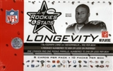2006 Leaf Rookies & Stars Longevity Football Box