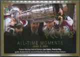 2015/16 SP Authentic #156 Joe Sakic & Patrick Roy All-Time Moments Auto