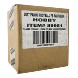 2017 Panini Pantheon Football Hobby 5-Box Case