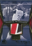 2004 SP Game Used Patch Famous Nicknames #KG Ken Griffey Jr 7/15