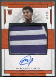 2016/17 Panini National Treasures #139 Marquese Chriss Rookie Patch Auto #63/99