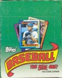 1990 Topps Baseball Rack Box