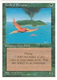 Magic the Gathering 4th Edition Single Birds of Paradise UNPLAYED (NM/MT)