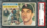 1956 Topps Baseball #70 Jim Rivera PSA 8 (NM-MT) *0683