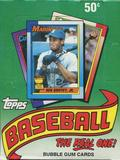 1990 Topps Baseball Wax Box