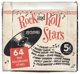 1959 Nu-Card Rock and Roll Stars Cello Box