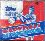 1981 Topps Baseball Cello Box
