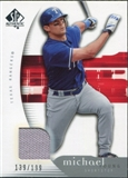 2005 Upper Deck SP Authentic Jersey #68 Michael Young /199
