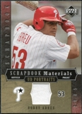 2005 Upper Deck UD Portraits Scrapbook Materials #BA Bobby Abreu Jersey