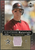 2005 Upper Deck UD Portraits Scrapbook Materials #BI Craig Biggio Jersey