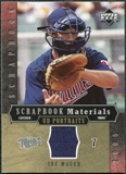 2005 Upper Deck UD Portraits Scrapbook Materials #JM Joe Mauer Jersey