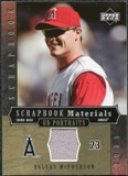 2005 Upper Deck UD Portraits Scrapbook Materials #MC Dallas McPherson Jersey