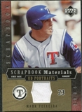 2005 Upper Deck UD Portraits Scrapbook Materials #MT Mark Teixeira Jersey