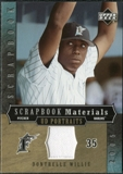 2005 Upper Deck UD Portraits Scrapbook Materials #WI Dontrelle Willis Jersey