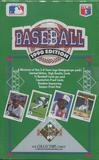 1990 Upper Deck Series 1 Baseball Wax Box (Low #)