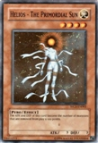 Yu-Gi-Oh Promo Single Helios - The Primordial Sun Super Rare WC6