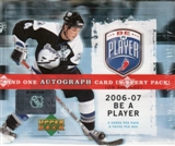 2006/07 Upper Deck Be A Player Signature Hockey Hobby Box