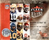 2007 Fleer Ultra SE Football Hobby Box