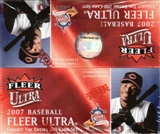 2007 Fleer Ultra Baseball 24-Pack Box