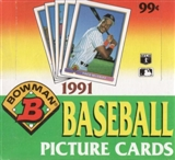 1991 Bowman Baseball Cello Box