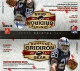 2008 Donruss Gridiron Gear Football 24-Pack Box