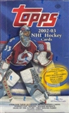 2002/03 Topps Hockey Hobby Box