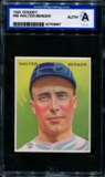 1933 Goudey Baseball #98 Walter Berger ISA A (Authentic) *3967