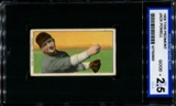1909-11 T206 Piedmont Jack Powell ISA 2.5 (GOOD+) *0600