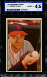 1953 Bowman Color Baseball #17 Gerry Staley ISA 4.5 (VG-EX+) *0609