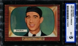 1955 Bowman Baseball #301 William R. Engeln ISA 5 (EX) *0628