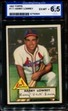 1952 Topps Baseball #111 Harry Lowrey ISA 6.5 (EX-MT) *0634