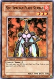 Yu-Gi-Oh Power of the Duelist Single Neo-Spacian Flare Scarab Super Rare