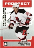 2006/07 ITG Heroes & Prospects Update #158 Nicklas Bergfors 10 Card Lot