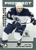 2006/07 ITG Heroes & Prospects Update #166 Jeff Taffe 10 Card Lot