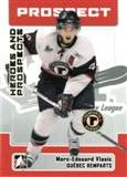 2006/07 ITG Heroes & Prospects Update #189 Marc-Edouard Vlasic 10 Card Lot