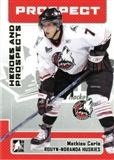 2006/07 ITG Heroes & Prospects Update #191 Mathieu Carle 10 Card Lot