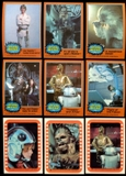 Star Wars Series 5 (Orange) Complete Set w/stickers (1977 Topps)