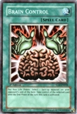 Yu-Gi-Oh The Lost Millennium Single Brain Control Super Rare