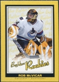 2005/06 Upper Deck Beehive Rookie #100 Rob McVicar RC