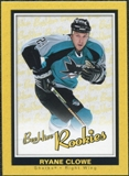 2005/06 Upper Deck Beehive Rookie #139 Ryane Clowe RC