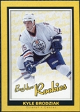 2005/06 Upper Deck Beehive Rookie #164 Kyle Brodziak RC