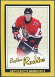 2005/06 Upper Deck Beehive Rookie #169 Christoph Schubert RC