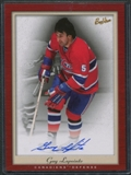 2005/06 Upper Deck Beehive PhotoGraphs #PGLA Guy Lapointe Autograph